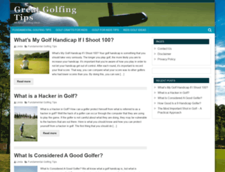 eyespygolf.com screenshot