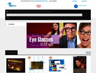 eyetina.com screenshot