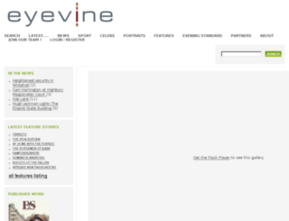 eyevine.com screenshot
