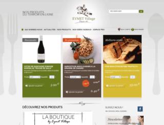 eymet-village.com screenshot
