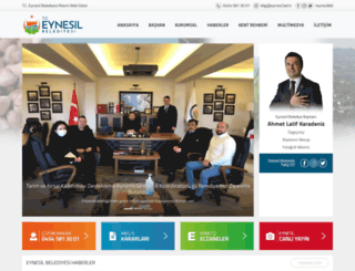 eynesil.bel.tr screenshot
