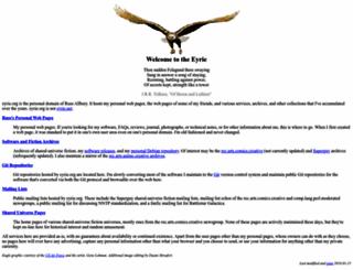 eyrie.org screenshot