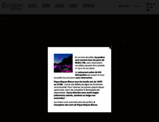 eyrignac.com screenshot