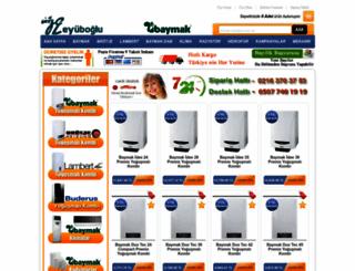 eyuboglukombi.com screenshot