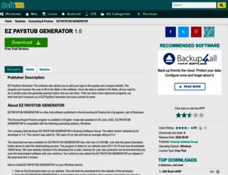 ez-paystub-generator.soft112.com screenshot