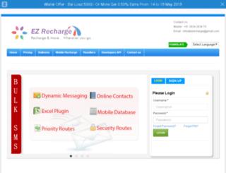 ez-recharge.com screenshot