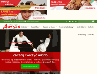 ez.aikido.waw.pl screenshot
