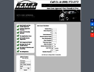 ez123autoloans.com screenshot