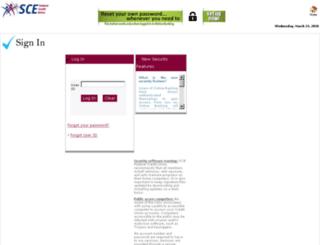 ezbanking1.scefcu.org screenshot