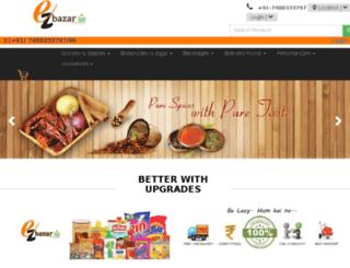 ezbazar.co.in screenshot