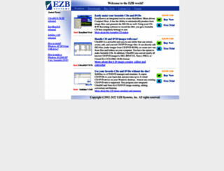 ezbsystems.com screenshot