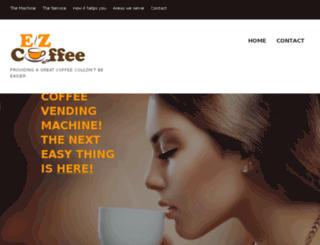 ezcoffee.info screenshot