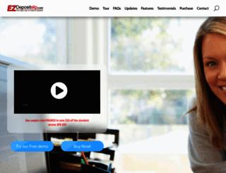 ezdepositslip.com screenshot