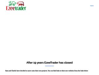 ezeetrader.com screenshot
