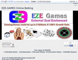 ezegames.yolasite.com screenshot