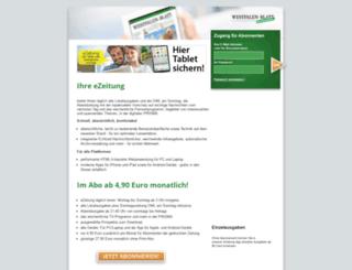 ezeitung3.info screenshot