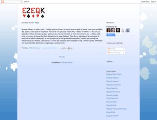 ezeqk.blogspot.com screenshot