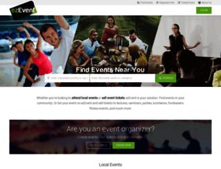 ezevent.com screenshot