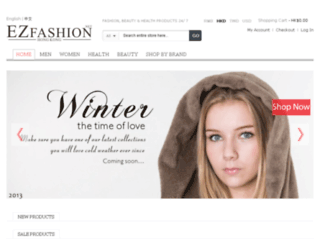 ezfashion.net screenshot