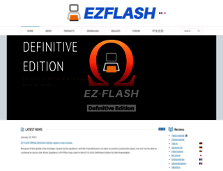 ezflash.cn screenshot