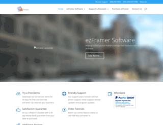 ezframer.com screenshot