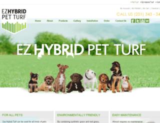 ezhybridpetturf.com screenshot