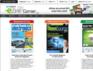 ezines.efyindia.com screenshot