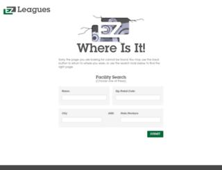 ezleagues.ezfacility.com screenshot