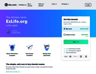 ezlife.org screenshot