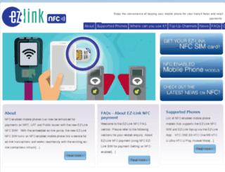 ezlinknfc.com screenshot