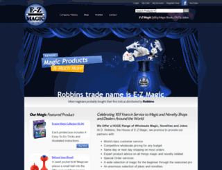 ezmagicrobbins.com screenshot
