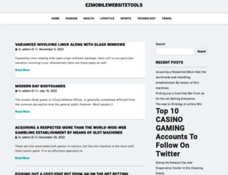 ezmobilewebsitetools.com screenshot