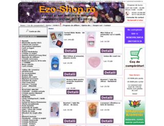 ezo-shop.ro screenshot