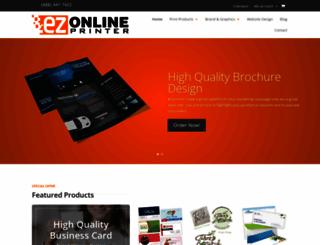 ezonlineprinter.com screenshot
