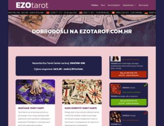 ezotarot.com.hr screenshot