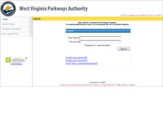 ezpasswv.com screenshot
