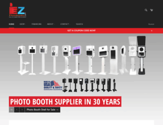 ezphotobooths.com screenshot