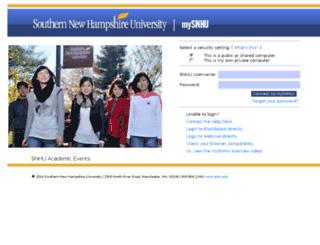 ezproxy.snhu.edu screenshot