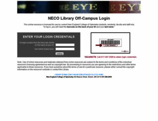 ezproxynco.flo.org screenshot