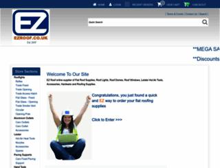 ezroof.co.uk screenshot