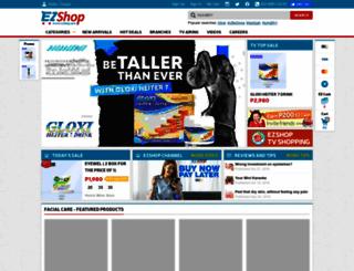ezshop.asia screenshot