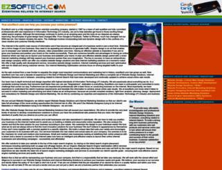 ezsoftech.com screenshot