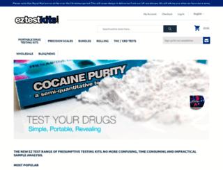 eztestkits.com screenshot