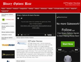 eztraderreviews.com screenshot