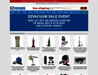 ezvacuum.com screenshot