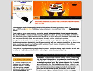 ezweborders.com screenshot