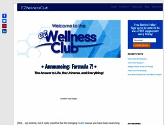 ezwellnessclub.com screenshot