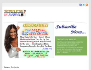 ezybizwebsites.co.nz screenshot