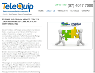 ezycom.net.au screenshot