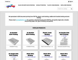 ezycopy.com screenshot